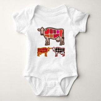 Rindfleisch-Schnitte Baby Strampler