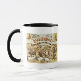 Rindfleisch-u. Schweinefleisch-Verpacker, c.1880 Tasse