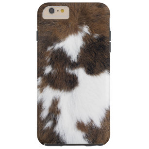 Rindleder-Flecken Tough iPhone 6 Plus Hülle