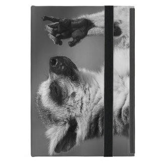 Ring angebundenes Lemur-Spielen Etui Fürs iPad Mini