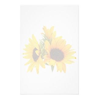 Ring der Sonnenblumen Briefpapier