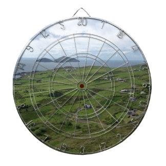 Ring des Iren-Meerblicks Kerrys Irland Dartscheibe