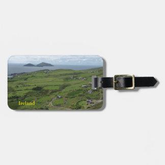 Ring des Iren-Meerblicks Kerrys Irland Kofferanhänger