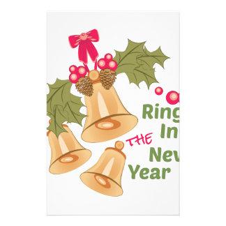 Ring im neuen Jahr Briefpapier