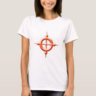 Ring Kugeln torus spheres Kreuz cross T-Shirt