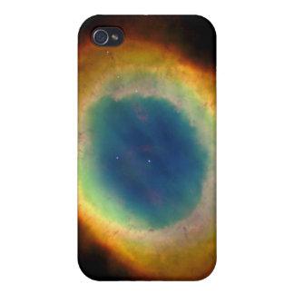 Ring-Nebelfleck oder Auge des Gottes M57 iPhone 4/4S Case