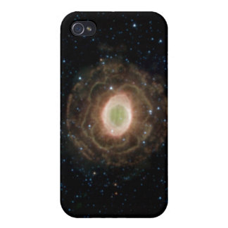 Ring-Nebelfleck oder Auge des Gottes M57 iPhone 4 Schutzhülle