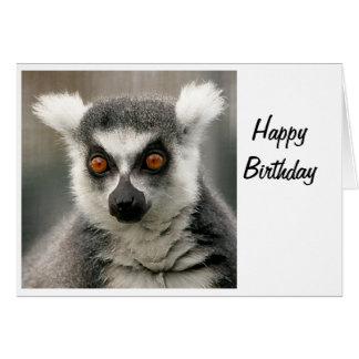 Ring-Schwanz Lemur Karte