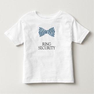 Ring-Sicherheits-Shirt mit Bogen-Krawatte für Kleinkind T-shirt