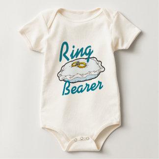 Ringbearer Baby Strampler