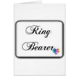 Ringbearer-Box Karte
