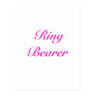 ringbearer girly postkarte