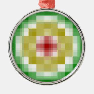 Ringe Digital Rasta Silbernes Ornament
