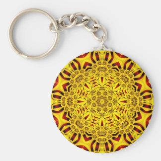 Ringelblumen buntes Keychains Schlüsselanhänger