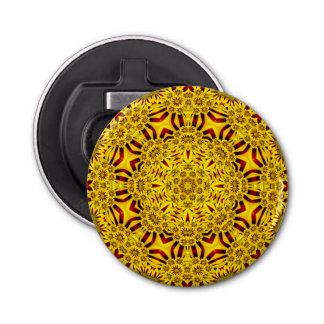 Ringelblumen-Kaleidoskop-    magnetische Flaschenöffner