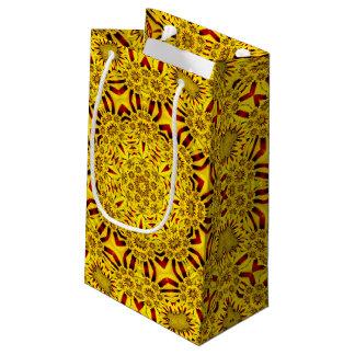 Ringelblumen-Vintages Kaleidoskop-kleine Kleine Geschenktüte