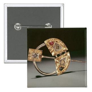 Ringförmige Brosche, Ardagh Hort, Reerasta Quadratischer Button 5,1 Cm