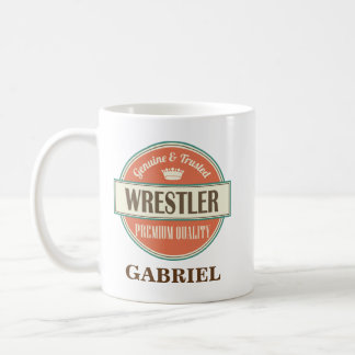 Ringkämpfer-personalisiertes Büro-Tassen-Geschenk Tasse