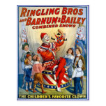Ringling Brüder u. Barnum u. Vintage Clowns