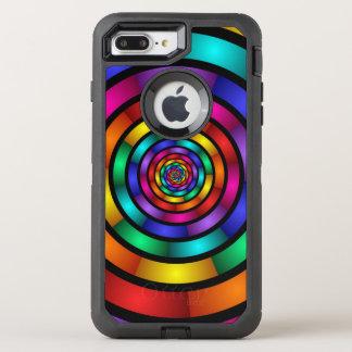 Ringsum und psychedelische bunte moderne OtterBox defender iPhone 8 plus/7 plus hülle