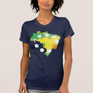 Rio 2016 olympisches Brasilien T-Shirt