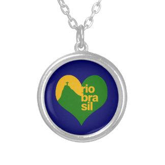 Rio Brasilien 2014 Halskette Mit Rundem Anhänger