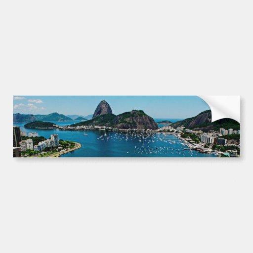 Rio de Janeiro Autoaufkleber