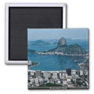 Rio de Janeiro, Brasilien Quadratischer Magnet