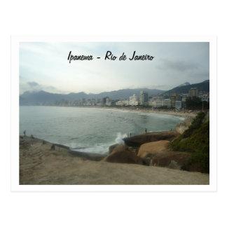 Rio De Janeiro - Ipanema Postkarte