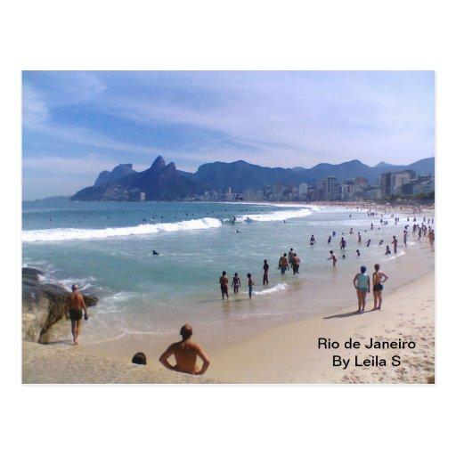 Rio De Janeiro Postkarten