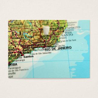 Rio- de Janeirokarte Visitenkarte