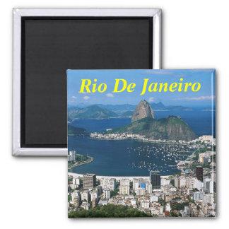 Rio- de Janeiromagnet Quadratischer Magnet