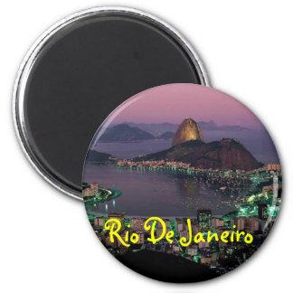 Rio- de Janeiromagnet Runder Magnet 5,1 Cm