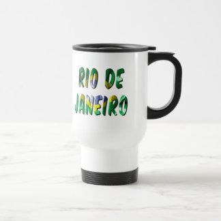 Rio- de Janeirowort mit der Reisebecher