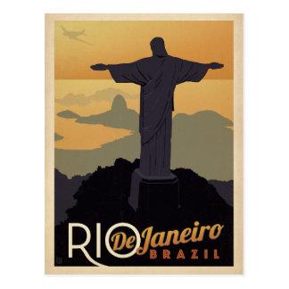 Rio De Janiero, Brasilien Postkarte