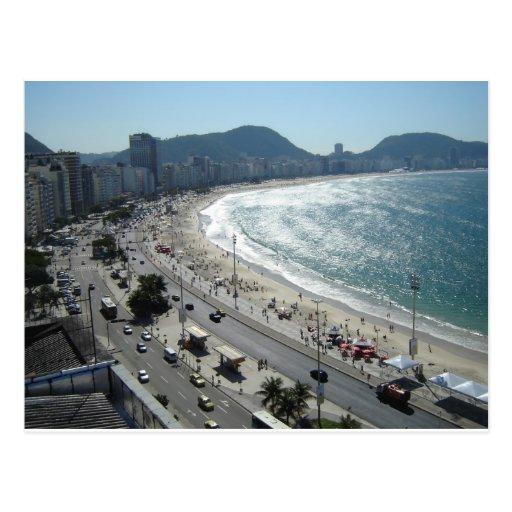 Rio de Janiero Postkarte