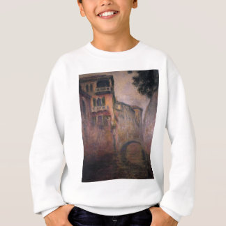 Rio della Gruß 02 durch Claude Monet Sweatshirt