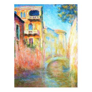 Rio della Gruß Claude Monet Postkarte