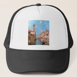 Rio Sankt Barnaba, Venedig durch Franz Richard Truckerkappe