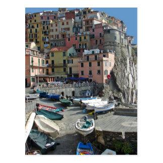 Riomaggiore Dorf Italien Cinque Terre Postkarte