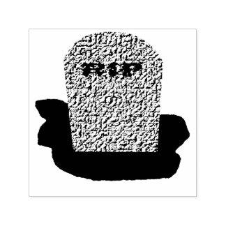 RIP Grabstein-Selbst, der Briefmarke mit Tinte Permastempel