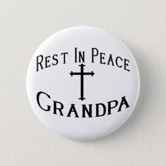 RIP Großvater Runder Button 5,7 Cm