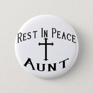 RIP Tante Runder Button 5,1 Cm