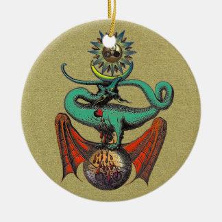 Ripley Rolle Rundes Keramik Ornament