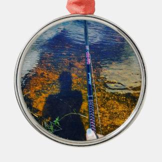 Ripples&Nibbles Silbernes Ornament