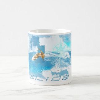Riss-Gleiten Kaffeetasse