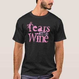 Risse in Wein T-Shirt