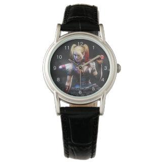 Ritter Batmans Arkham | Harley Quinn mit Schläger Uhr