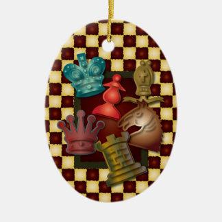 Ritter-Bischofs-Pfand Ovales Keramik Ornament