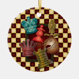 Ritter-Bischofs-Pfand Rundes Keramik Ornament